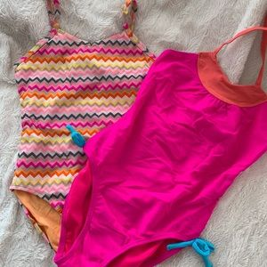 Lot of 2 One-Piece Swimsuits from Old Navy